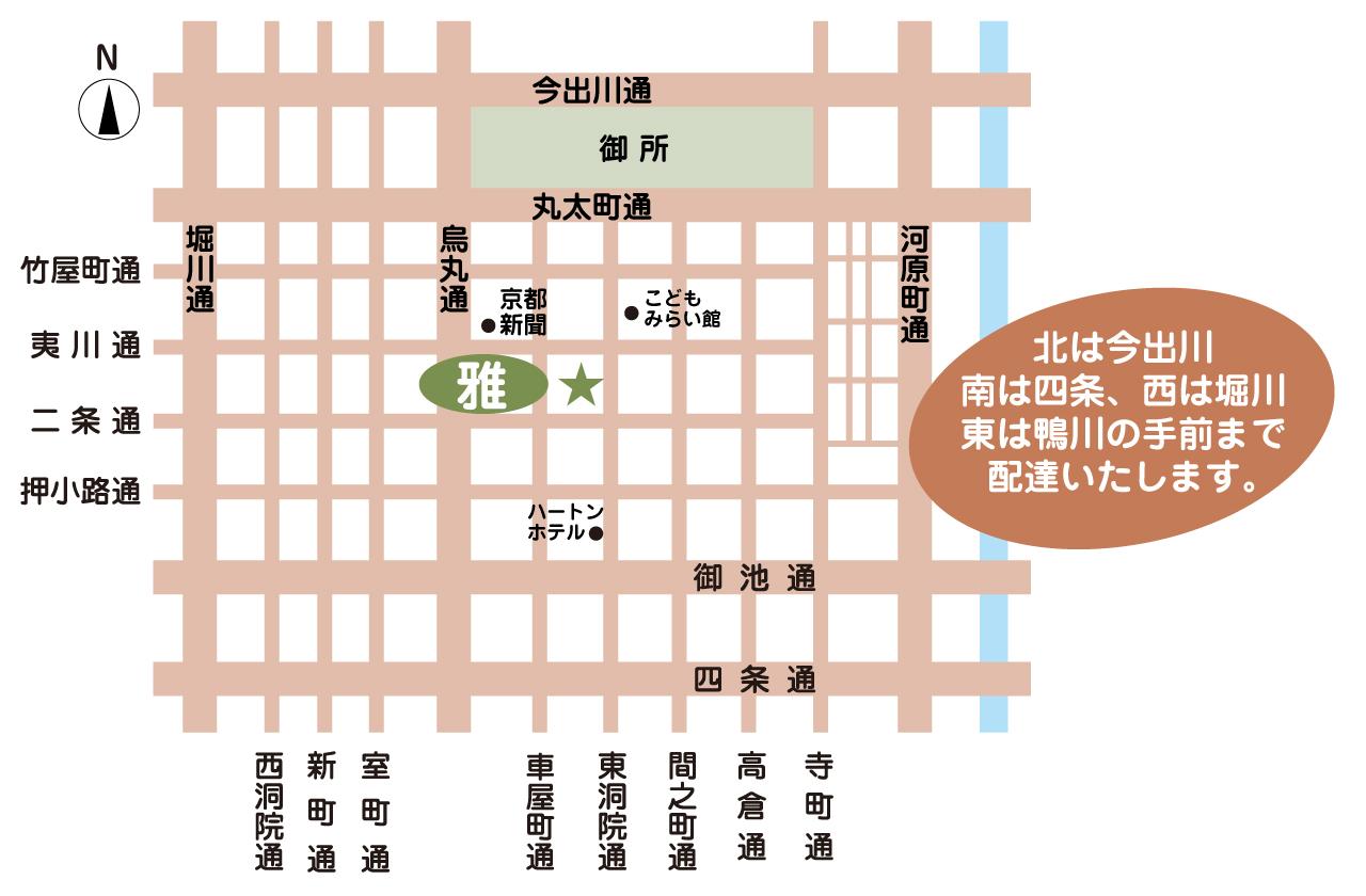配達地域MAP