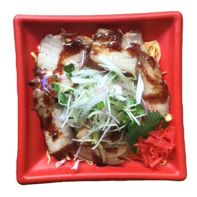 自家製焼豚丼(マヨネーズ付)